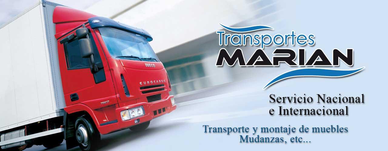 Transportes muebles Asturias, mudanzas montajes Marian